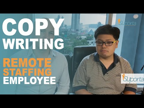Listen to a real Blogger / Copy writing outsourced staff from the Philippines | iSuporta