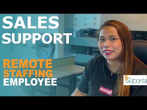 Listen to a real Sales and Marketing Support Employee, talk about her role, supporting sales in USA
