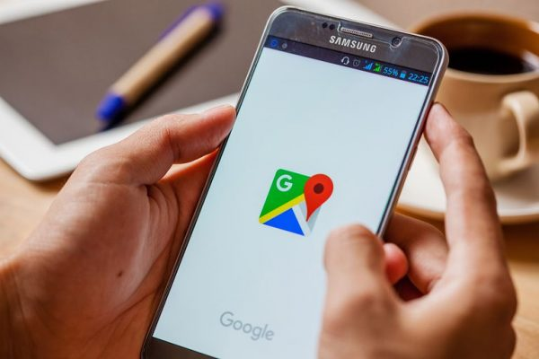smartphone showing Google - call center fraud needs secure encryption