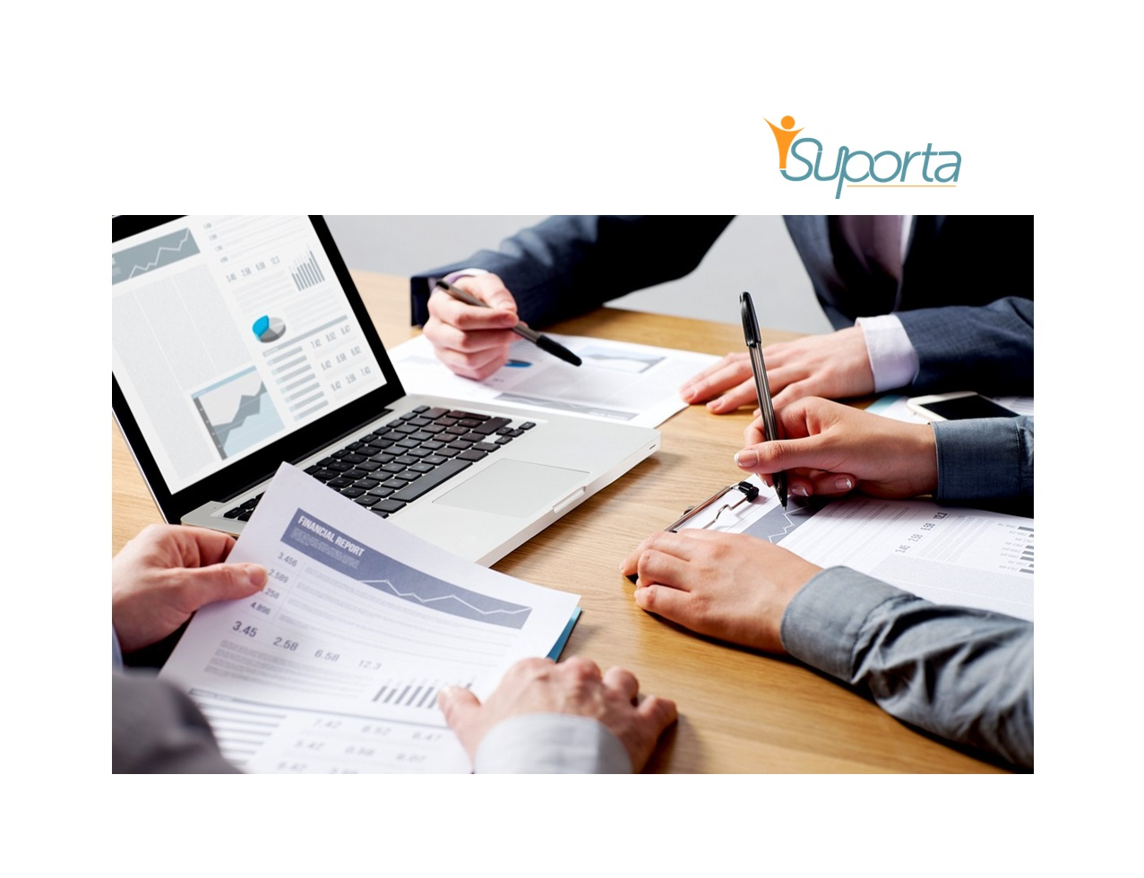 outsourced bookkeeping - hands on a computer or you can outsource