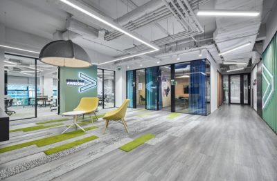 Accenture, a global Outsourcing Philippines company with spacious offices